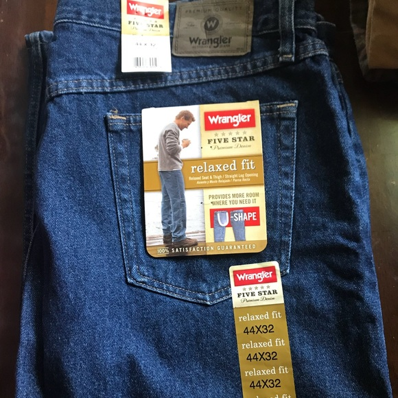 6917a794 Wrangler Jeans | Mens Five Star Relaxed Fit | Poshmark